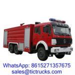 China 11000L -15000L  336HP Foam Truck 6 x4 BeiBen for sale. wholesale