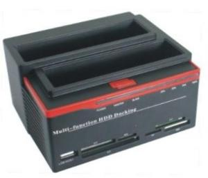 "Quality USB2.0 to 2.5 3.5""IDE&SATA double slots multi-function HDD docking station 892U2IS for sale"