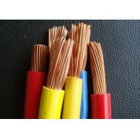 ROHS PVC Electrical  Earth Cable  UL1015 16AWG 600V with UL certificate