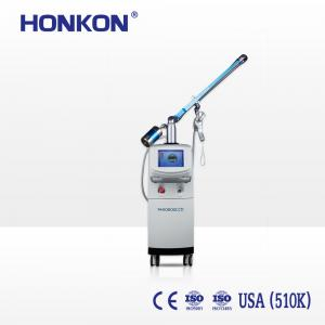 China HONKON 30W 10600nm Stretch Mark Removal Co2 Fractional Laser Machine For Beauty Salon on sale