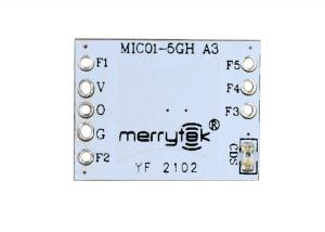China Microwave Module of Small Size with  Multi-function Extension Pins  MIC01-5GH01 on sale