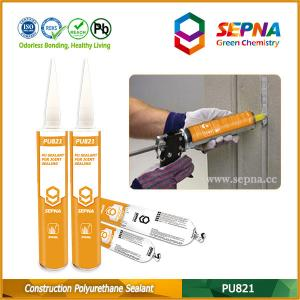 China Low Modulus One Component Polyurethane Construction Joints Sealant Adhesive For Building Expansion JointsPU821 on sale