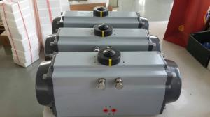 China pneumatic air control rotary actuator for ball valves and butterfly valves on sale