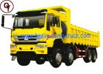 Sinotruk howo 8x4 Golden Prince dumper tipper trucks for sale