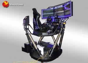 China Amusement Park Virtual Reality 6-axis-Dynamic Car XD VR Racing Driving Car Simulator on sale