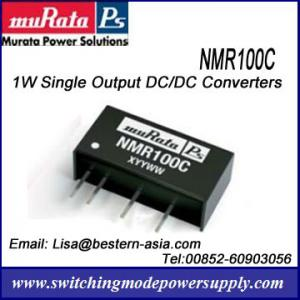 China Murata Isolated 1W DC-DC Converters NMR100C Power Supply on sale
