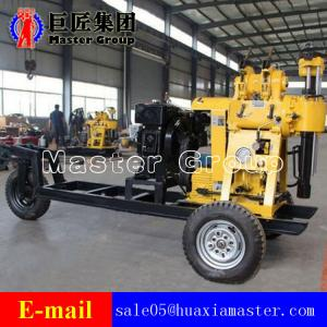 China Cheap Price 130m Deep Mobile Hydraulic Water Well Drilling Rig