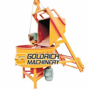 China Concrete forced mixer on sale