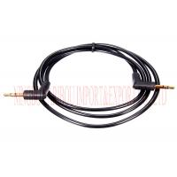 China CD Player 3.5 Mm Stereo Audio Cable 4 Pole 90 Degree Right Angle Male To Male on sale