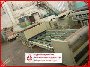 China Double Stage Vacuum Roof Sheet Making Machine for Crop Straw / Sawdust Material on sale