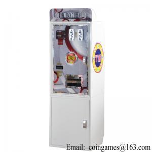 China Amusement Equipment Arcade Currency Exchange Token Changer Coin Change Machine on sale