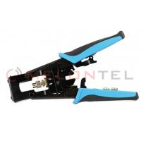 F / BNC / RCA Telecom Hand Tools Wire Connector Crimping Tool For Coaxial Cable Connector