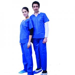 China SMMS Anti - Static Disposable Medical Protective Clothing Anti - Pull For Surgeries on sale