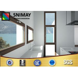China Simple European Sash Wooden Frame Windows room and home furniture on sale