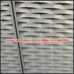 esthetic aluminium expanded mesh wall claddings