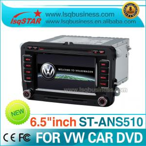 China FM/ AM Tuner Volkswagen DVD GPS RDS Bluetooth IPAS for VW Golf 6 ST-ANS510 on sale