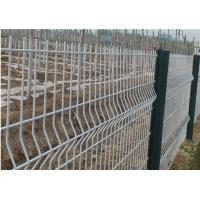 China PVC Coated Wire Mesh Garden FenceGreat Strength 830-2230mm Height For Village on sale