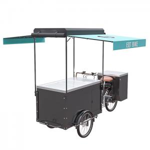 China Three Wheels Cycle Ice Cream Cart Tricycle High Load Capacity For Outdoor on sale
