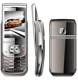China Curved slide mobile phones,  dual sim mobile phones ZG806 on sale
