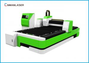 China 3015 1000w Cnc Metal Fiber Laser Cutting Machine With Water Cooling Sawtooth Table on sale