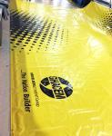 el PVC brillante 800gsm cubrió la tela plástica de las lonas de la lona/de las tiendas inflables