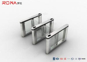 China SUS 304 Access Control System High Speed Swing Turnstile Gate At Office Building on sale