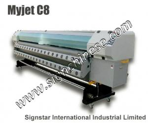 China myjet C8 konica head solvent printer on sale