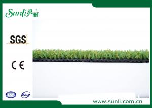 China ISA REACH Outdoor Artificial Grass , Double Green PP Golf Grass Turf Anti-UV on sale