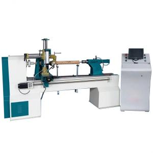China 315K CNC wood turning lathe machine on sale