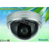 6mm Lens Optional Color CCD Outdoor Vandal Proof Dome Camera With Auto White Balance