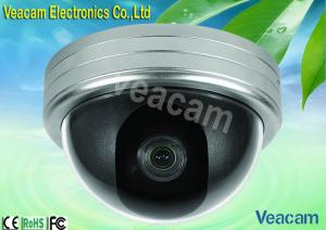 China 6mm Lens Optional Color CCD Outdoor Vandal Proof Dome Camera With Auto White Balance on sale