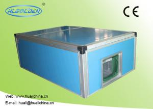 Quality Chilled Or Hot Water Central Air Handling Units Low Noise Color Plate Industrial / Commercial for sale