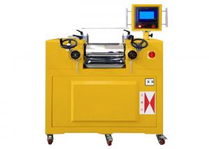 Quality Small Quality Control Lab Equipment Two Roll Rubber Mixing Mill For Shoes Rubber for sale