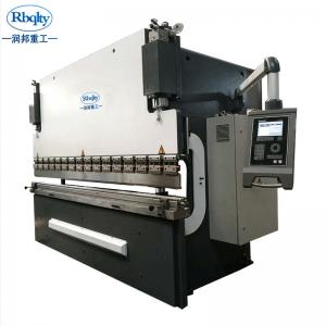 China Low Cost High Performance Factory Quality CNC Plate Press Brake Machine on sale