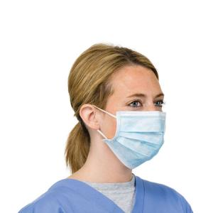 China Eco Friendly Medical Face Mask / 3 Ply Disposable Face Mask For Laboratory on sale