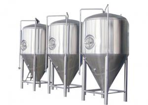 China SUS 304 / 316 Conical Beer Fermenter Drinks Beverage Beer Brewing Parts on sale