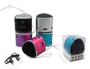 China Portable Rechargeable Mini Speaker For mp3 PC IPOD on sale