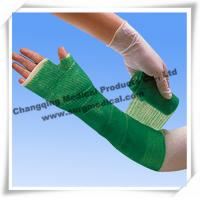 China Medical Fiberglass Casting Tape Waterproof for Repair A Leg / Arm , Cast And Splint on sale