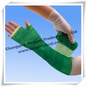 China Medical Fiberglass Casting Tape Waterproof for Repair A Leg / Arm , Cast And Splint on sale