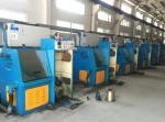 Iron Cast Fine Copper Wire Drawing Machine With Flat Belts And Timing Belts Transmission