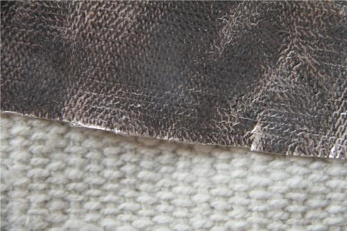 Heat Insulation Aluminum Foil Coated Ceramic Fiber Cloth for