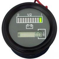 LED Digital State of Charge Battery Hour Meter Indicator for Golf Cart, Boat RL-BI003