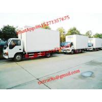 ISUZU Refrigerator Van Truck Refrigerator Wagon Cell: 0086 152 7135 7675