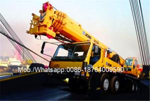 China 40% Gradeability XCMG Truck Crane QY35K5 35 Ton 6m Span 54.6m Lifting Height on sale
