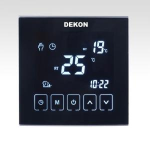 China Full screen Touch button thermostat for Fan Coil Unit on sale