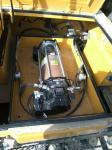 Centralized lubrication system for excavator loader
