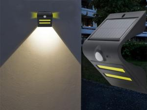 China Outdoor Solar Wall Spotlight With Motion Detector , Wireless Solar Security Lights on sale