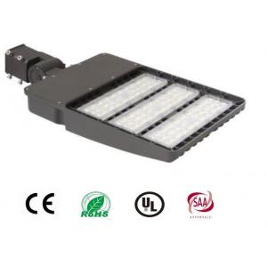 China 3000K 4000K 6000K LED Shoebox Light , 130LM / Watt Outdoor Led Pole Light on sale