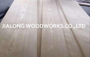 China White American Ash Natural Sliced Crown Cut Wood Veneer Sheet For Plywood on sale