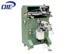 China Semi Automatic Cylindrical Silk Screen Printing Machine 110MM Print Diameter on sale